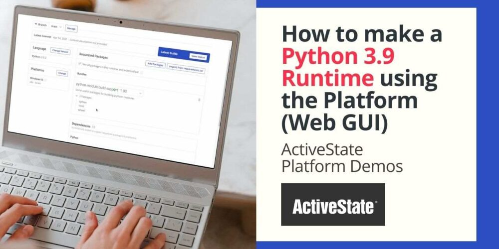 How to make a Python 3.9 runtime