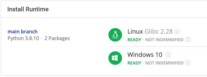 Install Runtime