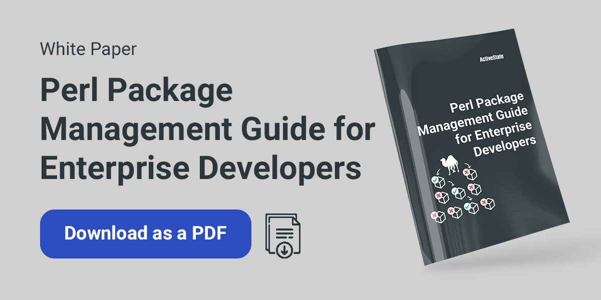 download Perl package management white paper