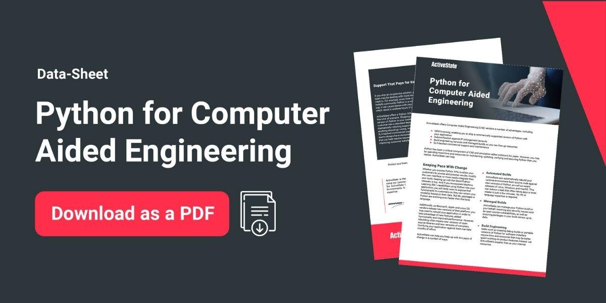 Download PDF Python for CAE