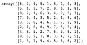 Solved Array