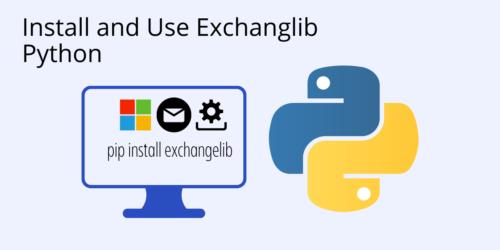 pip install exchangelib