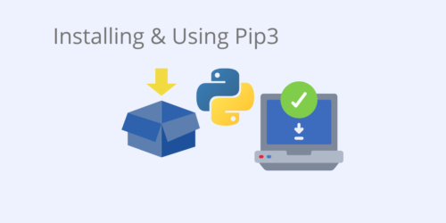 install and use pip3