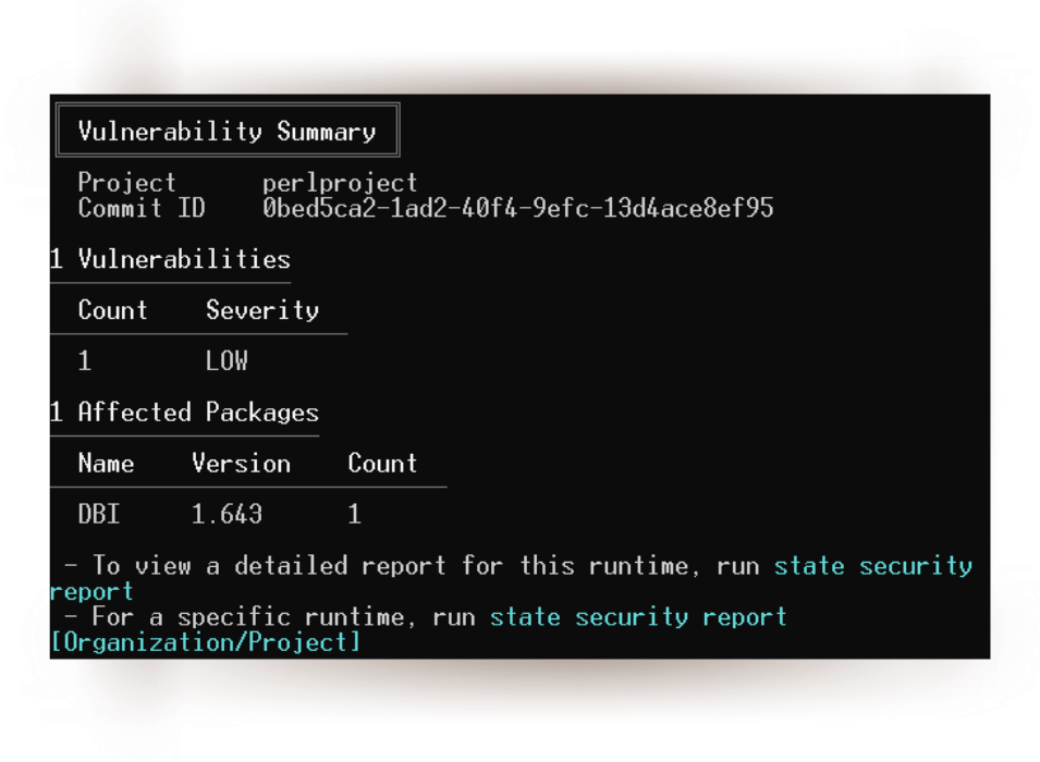 perl cli tool activestate