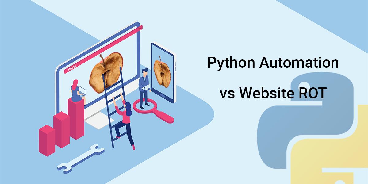 Python Automation vs Website ROT