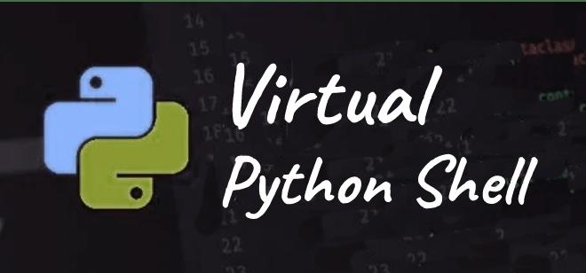 virtual python shell