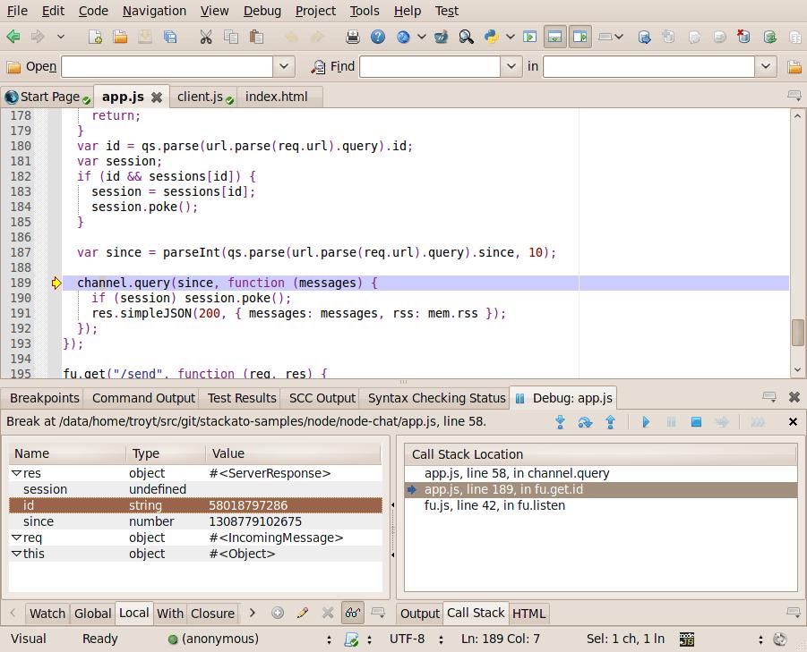 Node js support in Komodo 7 Alpha 3 | ActiveState
